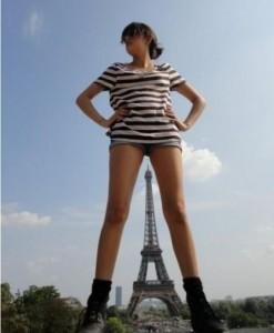 Une relation platoniquement sexuelle avec une parisienne