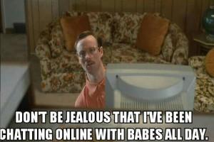 La limite de la drague sur Internet